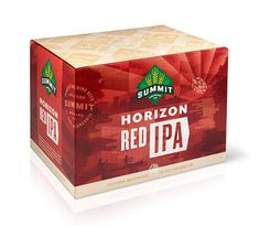 Summit Brewing Red IPA Case #packaging #beer