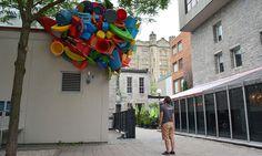 José Luis Torres #trash #sculpture #plastic