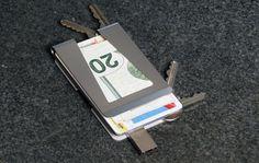 Wallet & Key Organizer Redefined #gadget