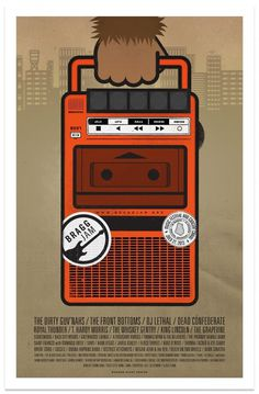 Bragg Jam 2013 Poster