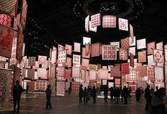 even*cleveland: infinite variety #quilt #pattern #museum #installation