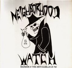 NEIGHBORHOOD WATCH 1992