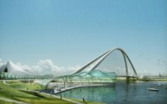 Pontes de alta tecnologia Marry Function and Beauty #bridge #design #architecture #modern