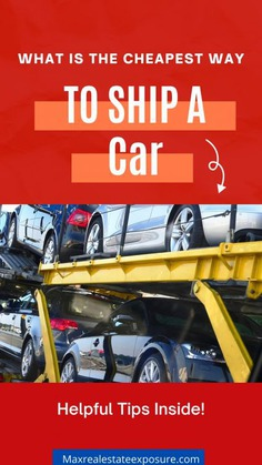 Cheapest Way to Ship a Car