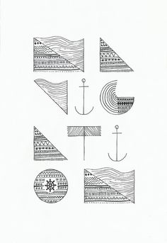 Made by Koning - N A V I G A T I O N #typography #tipografia #navigation #anchor #pattern