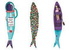 #illustration #sardines #festasdelisboa