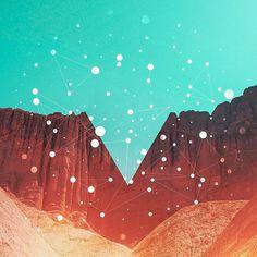 Statigram – Instagram webviewer #geometry #orange #dots #nature #teal