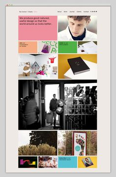 Teo Connor Studio #site #design #website #studio #layout #web