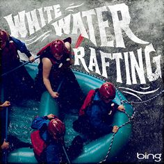 Bing Summer of Doing Jon Contino, Alphastructaesthetitologist #typography #lettering #jon contino #rafting #white water