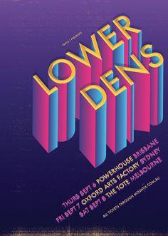 Lower Dens Poster Anne Cobai :: illustration #lower dens