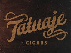 Dribbble - Tatuaje Script by Brandon Rike