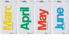 Work: In BCN | Astrid Stavro #guides #information #print #design #barcelona #local #typography