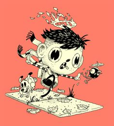Gaston Pacheco illustration