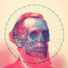 All sizes | Skullbeard Screen Print (SOLD OUT) | Flickr - Photo Sharing! #design #screen print