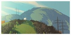 Extracurricular activities: On approach to SFO #art #landscape