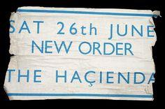 New Order, Fac 51 The Hacienda poster 1982. | Flickr - Photo Sharing! #gill #hacienda #sans #order #poster #new