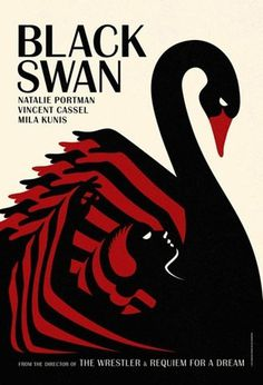 FFFFOUND! | design work life » cataloging inspiration daily #swan #illustration #black #poster
