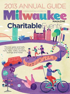 Milwaukee mag #illustration