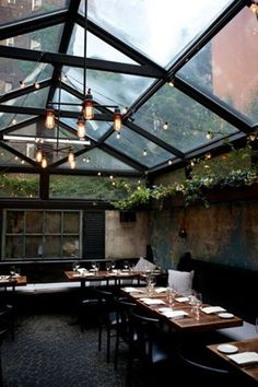FFFFOUND! | scotch & jazz @ dusk #lighting #design #food #commercial