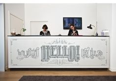 Typeverything.com Hello! Mosaic for the Vincci... - Typeverything #typography