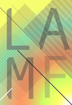 Daniel Littlewood #linear #angles #poster #typography