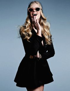 Valerie Van Der Graaf by Conny Kirste for Elle Serbia #model #girl #look #photography #fashion #style