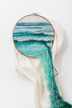 3D Ocean by Ana Teresa Barboza #ocean #decoration