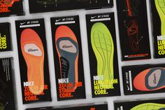 #nike #packaging #neon #shoes #box