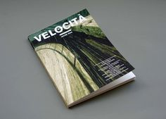Velocita Magazine : Michael Mercer Brown : Graphic Design #cycling #publication