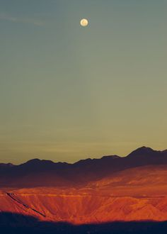 Travel & Landscape Photography by CIRCA 1983 (18) #sunset #orange #desert #moon