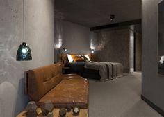 Concrete Hotel Decor in Canberra - #hotel, #interior