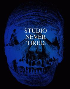 STUDIO NEVER TIRED® / ALESSIO SCHIAVON - Graphic Design, Creative consulting #skull #design #poster