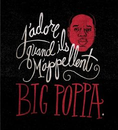 All sizes | 20110315-FrenchPoppa | Flickr - Photo Sharing! #lettering #design #typography