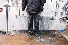 Brett Amory Studio Visit #amory #paint #brett