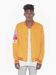 Poly-Suede Global Varsity Club Jacket