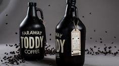 Toddy Coffee #packaging #toddy #lovely #faraway #coffee #typography