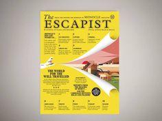 The Escapist 2015 magazine cover illustration