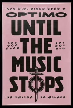 David Rudnick For OPTIMO #poster