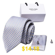 New #Casual #Tie #Formal #Tie #Wedding #Tie #Tie #Men'S #Tie #Suit #- #MULTI-A