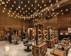 G Space Hair Salon by Han Yue Interior Design Co. - InteriorZine