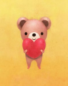 Heart on Behance #bear