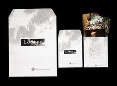 Atelier de création graphique | Musée du Louvre #stationary #print #design #graphic #identity