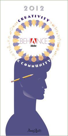Adobe, Behance, art deco, design, poster