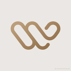 W Logo Personal Identity by Winston Tabar
