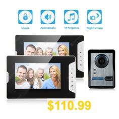 Video #Door #Phone #Home #Entry #Intercom #System