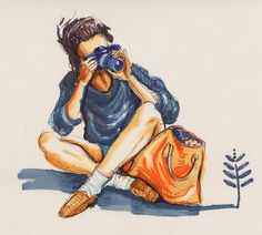photographer #illustration
