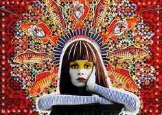 Por tu boca | Peperina Magenta #collage #art #arte #ilustration #ilustración #creative #amor #love #digital art #digital work #colour #colo