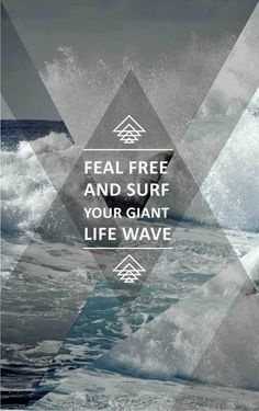 Poster just for creation #triangles #life #wave