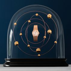 Globes Omega #watch #photography #cgi