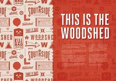http://pinterest.com/pin/165296248793260793/ #type #design #graphic #woodshed